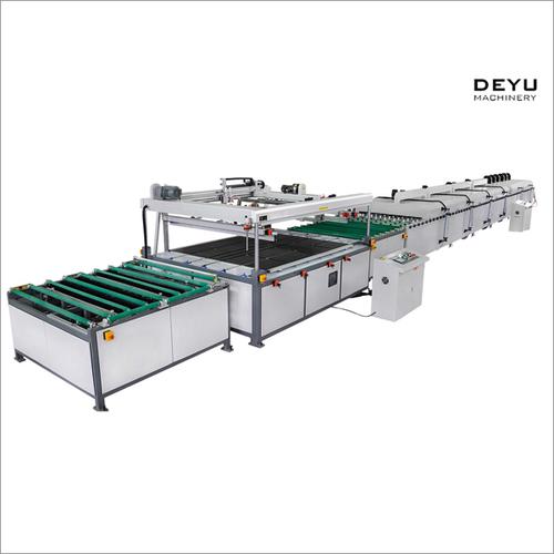 Full Automatic Flat Silk Screen Printing Machine
