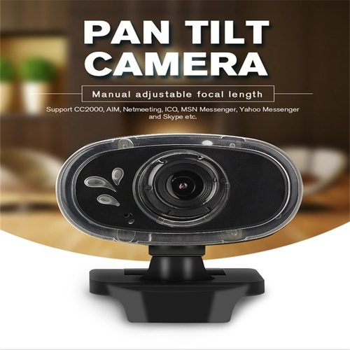 HD Webcam 12M Pixels 360 Degree Rotation Computer Web Camera A881