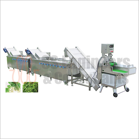Vegetable & Fruit Cutting Washing Line