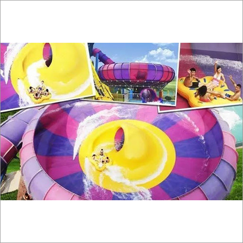 Double Thunder Bowl Water Slide