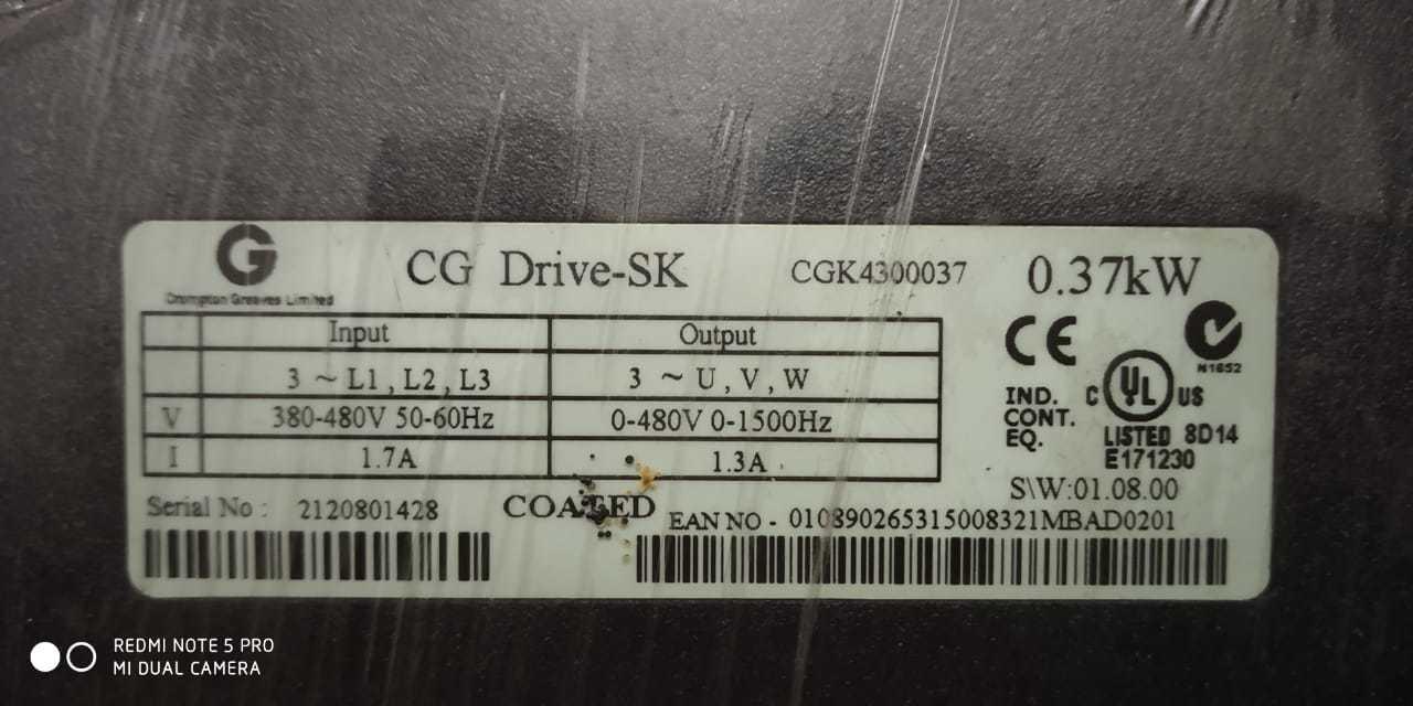 CG Drive-SK  CGK4300037