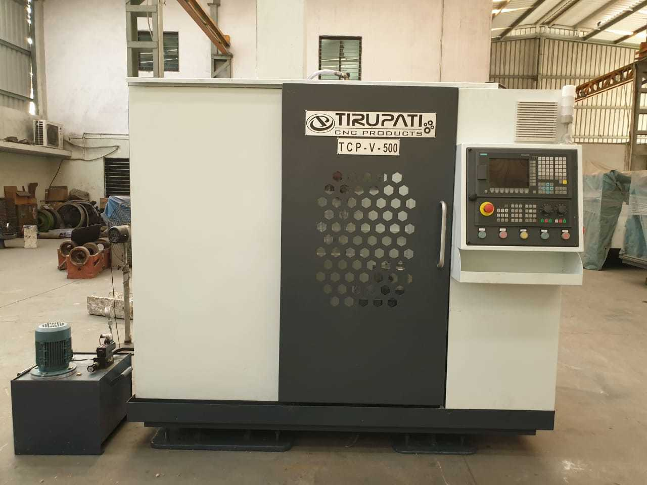 TCP V500 (2 AXIS) - CNC DRILLING MACHINE