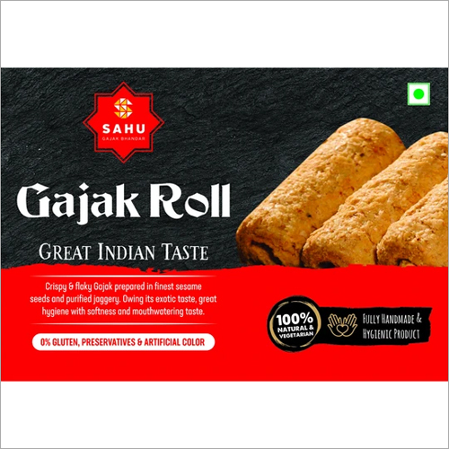 Soft And Tasty Handmade Roll Gajak