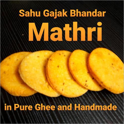 Handmade Pure Ghee Gol Mathri