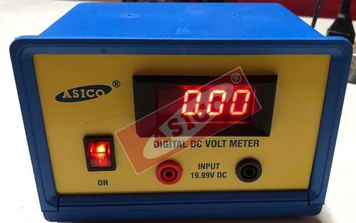 Digital DC Voltmeter LED Type Mains operated