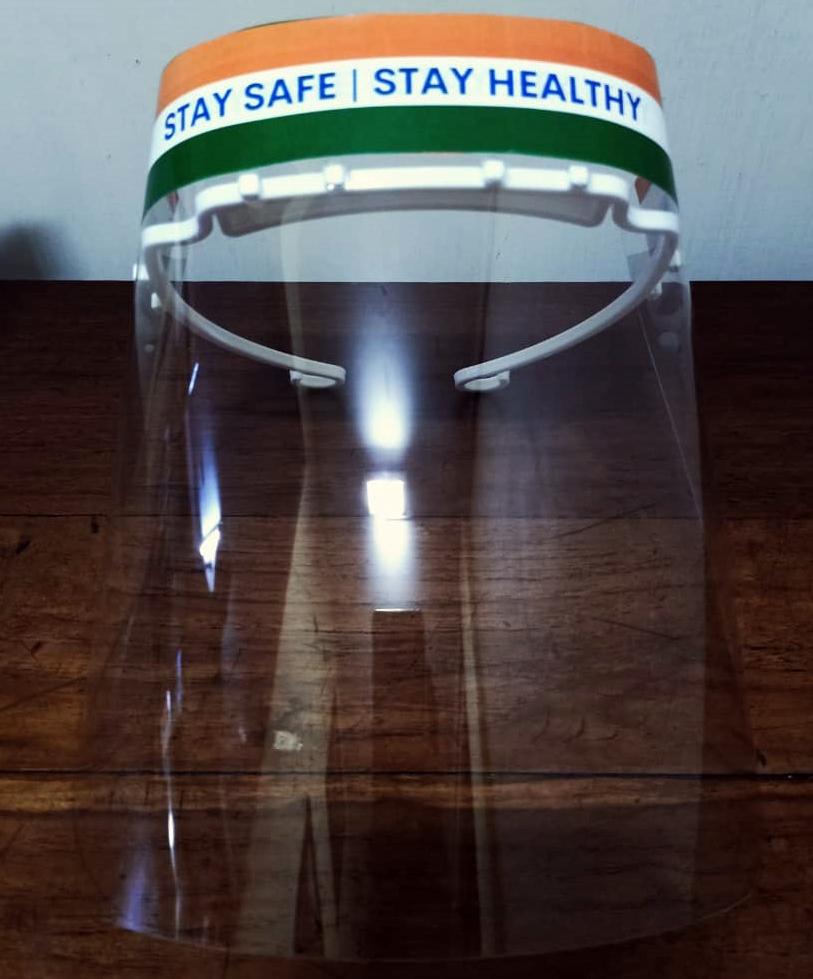 Face Shield With Headband
