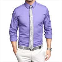 Mens Plain Shirt Collar
