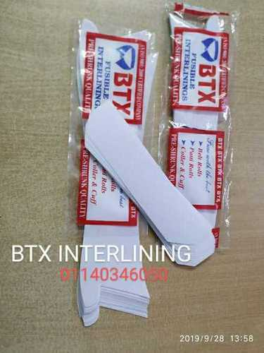 Cuff And Collar Fusible Interlining