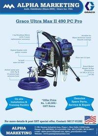Graco Ultra Max II 490 Airless Paint Sprayer