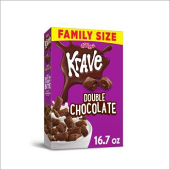 Kellogg's Krave Breakfast Cereal Double Chocolate