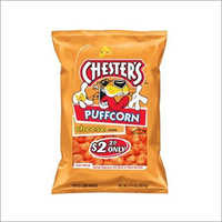 Chester's Puffcorn Puffed Corn Snacks Cheese Flavored 4.25 Oz
