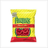 Funyuns Onion Flavored Rings Flamin Hot Flavor