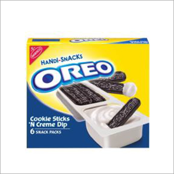 Handi-Snacks Oreo Cookie Sticks 'N Crme Dip Snack Packs 6 - 1 Oz Packs