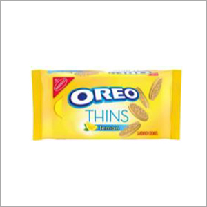 Oreo Thins Lemon Flavored Creme Sandwich Cookies
