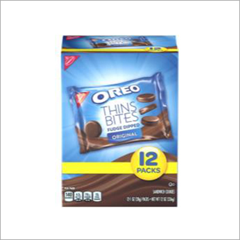 Oreo Thins Bites Fudge Dipped Original Cookie