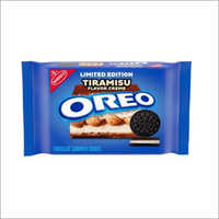 Oreo Chocolate Sandwich Cookies Tiramisu Flavored Creme, Limited Edition