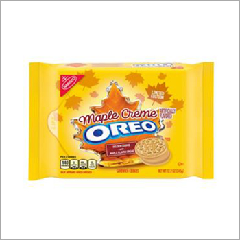 Oreo Golden Sandwich Cookies Limited Edition Maple Flavor Creme