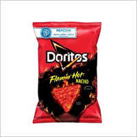 Doritos Tortilla Chips Flamin Hot Nacho Flavored