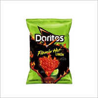 Doritos Flavored Tortilla Chips Flamin Hot Limon 2.75 Oz