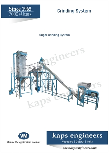 Salt Milling &  Grinding Machine