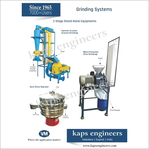 Mix Spices  Grinding System