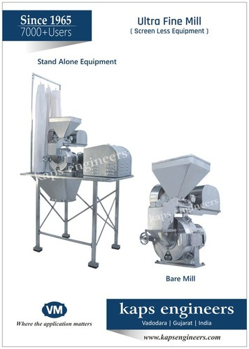 Micronized powdering Machine