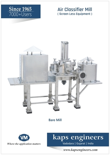 Fine Jet Powdering Machine