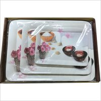 Melamine  Serving Tray Set