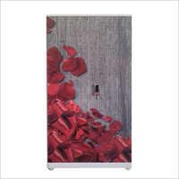 Floral Print Steel Almirah