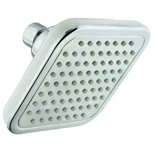 6X6 inch Platina ABS Overhead Shower