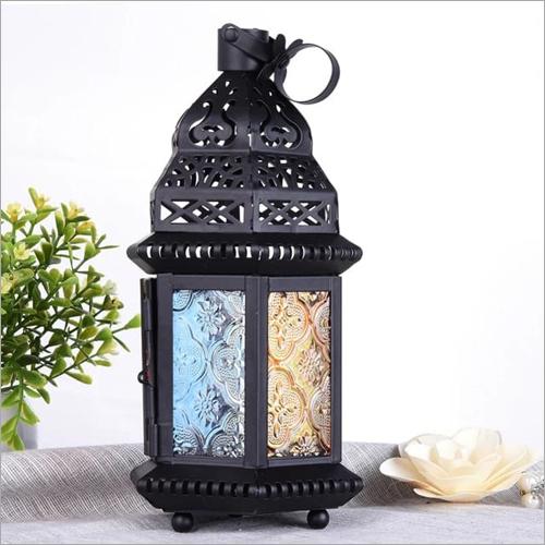 Black Classic Hanging Lantern