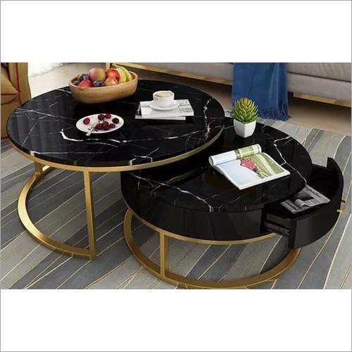 Home Inner Metal Golden Table