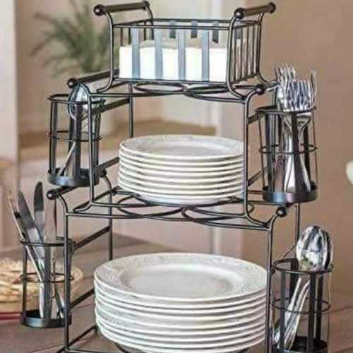Handicraft Iron Wire Vessels Basket