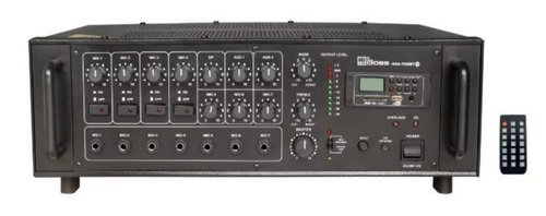High Power PA Amplifiers with Echo & Digital Player