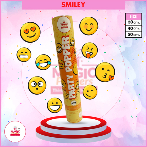 Smiley Party Popper