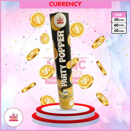 Currency Party Popper
