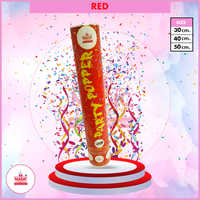 Red Party Popper