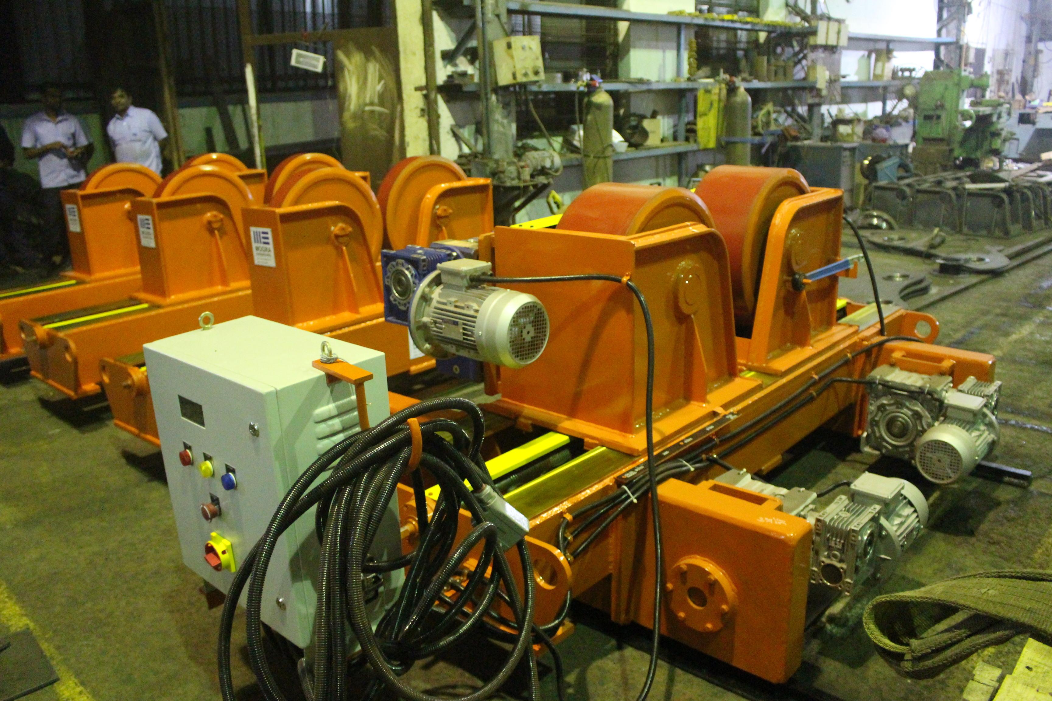 Welding Rotator 60 Mt Capacity  With Motorised Trolley