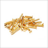7733 Zinco Brass Plating Screw