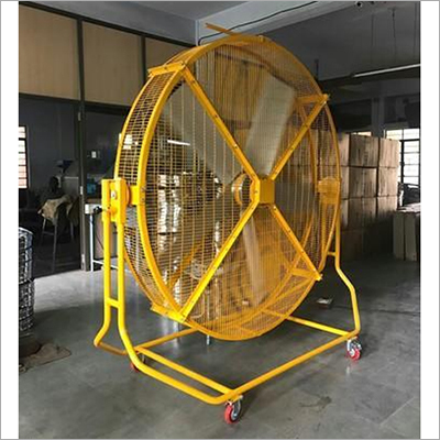 Mobile Pivot Floor Mounted Fan