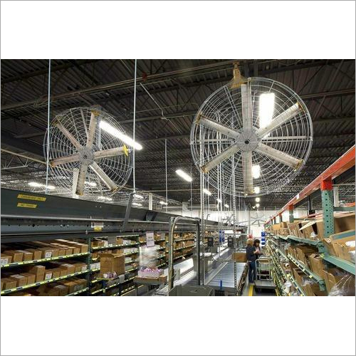 Wall Mounted High Volume Low Speed Pivot Fan