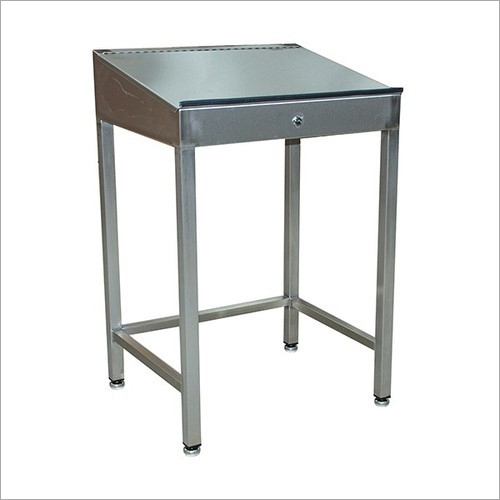 Stainless Steel Writing Table
