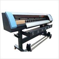 Semi Automatic Eco Solvent Printer Machine
