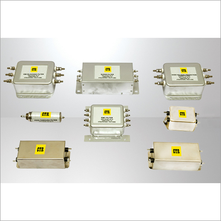 AC DC ELECTROMAGNETIC INTERFERENCE FILTERS (EMI EMC FILTERS)