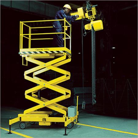Overhead Maintenance Scissor Lift