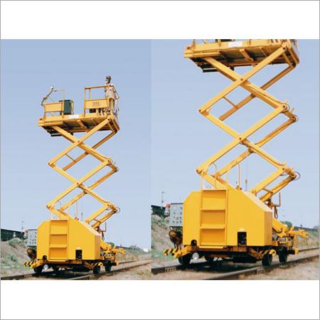 Overhead Scissor Lift Machine