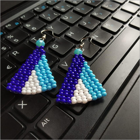 Triangles Seed Beaded Triangles