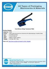 Cord Woven Strap Tensioner P482