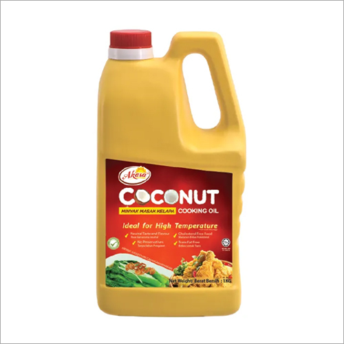 1 KG Akasa Coconut Cooking Oil