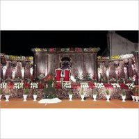 Antique Wedding Stage